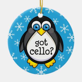 Got Cello (Funny) Ornament