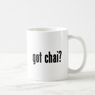 got chai? coffee mug