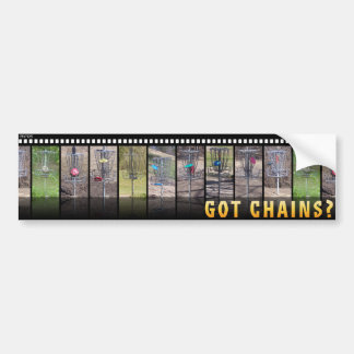 Got Chains? Bumper Sticker
