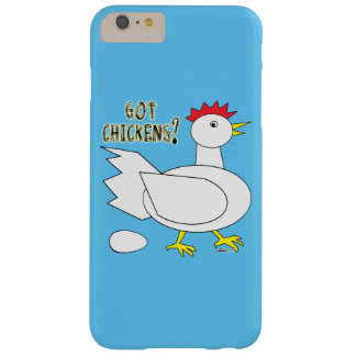 Got Chickens? Barely There iPhone 6 Plus Case
