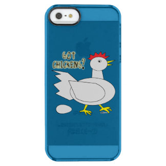 Got Chickens? Clear iPhone SE/5/5s Case