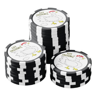 Got Chickens? Poker Chips Set
