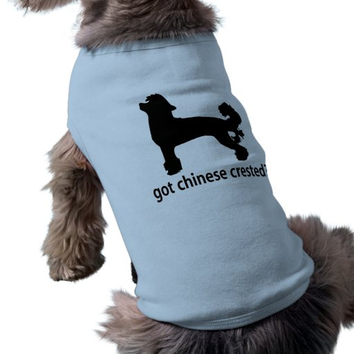 Got Chinese Crested Pet T Shirt