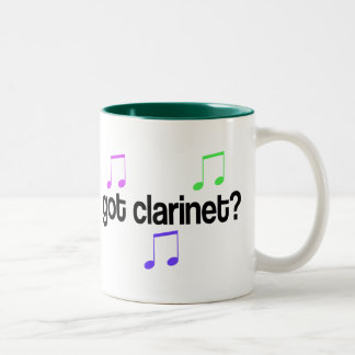 Got Clarinet Two-Tone Coffee Mug