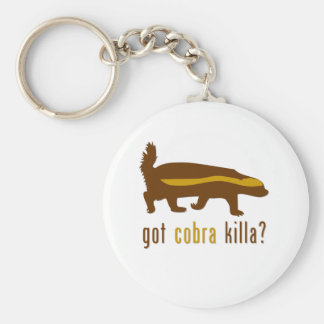 got cobra killa (honey badger) keychain