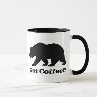 Got Coffee!? California Bear Edition Mug