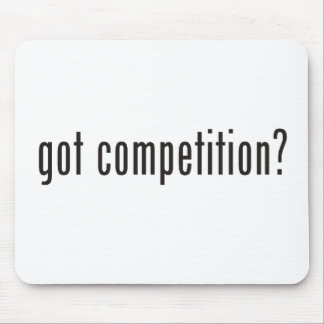 got competition? mouse pad