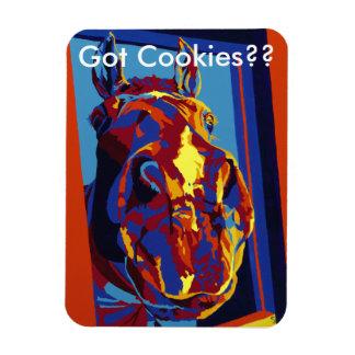 Got Cookies?? Horses in Primary Magnet