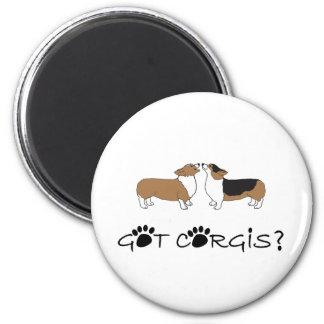 Got Corgis? 2 Inch Round Magnet