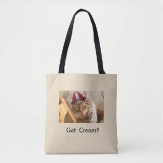 Got cream? customized tote bag