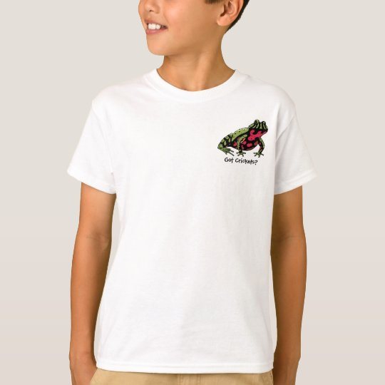 Got Crickets (Fire Belly Toad) T-Shirt