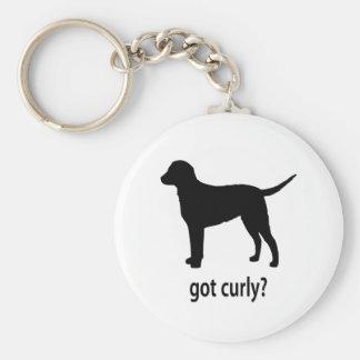 Got Curly Keychain