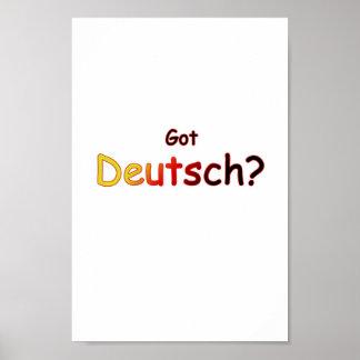 Got Deutsch Poster