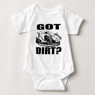 Got Dirt? Dirt Modified Racing Baby Bodysuit