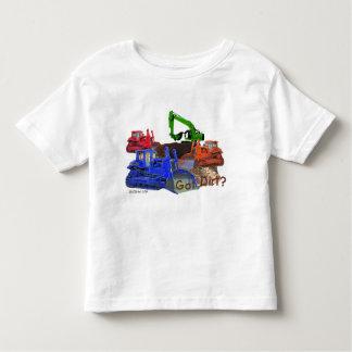 Got dirt? toddler t-shirt