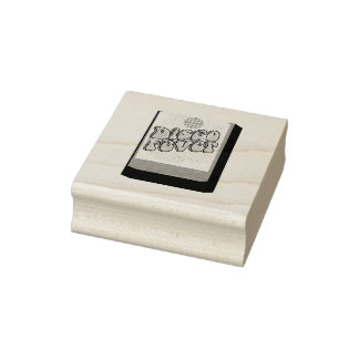 Got Disco Fever 8-Track Rubber Stamp