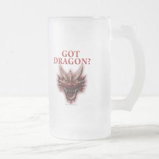 Got Dragon? 16 Oz Frosted Glass Beer Mug