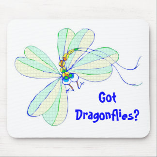 Got Dragonflies? - Mousepad
