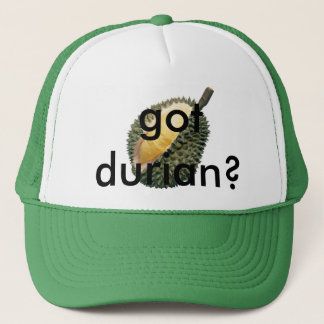 got durian? trucker hat