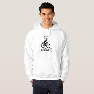 """""""Got eBike?"""" custom hoodies for men"""