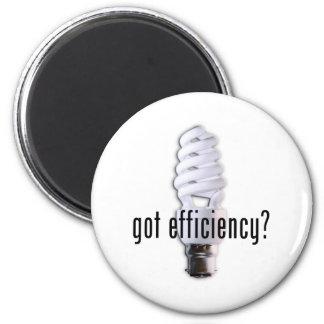 Got Efficiency? Fridge Magnet