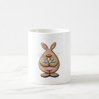 got eggs? cute & funny easter bunny cartoon coffee mug