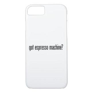 got espresso machine iPhone 7 case