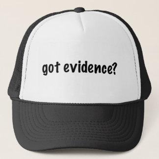 Got Evidence? Trucker Hat
