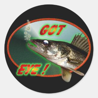 Got Eye! Classic Round Sticker