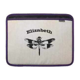 Got Flying Wings / Vintage Dragonfly Personalized Sleeve For MacBook Air