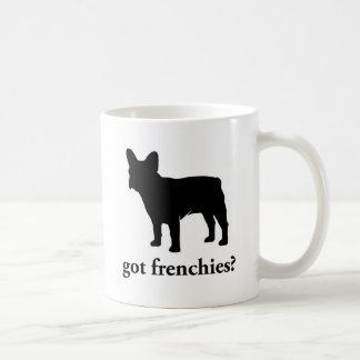 got frenchies? coffee mug