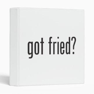 got fried vinyl binders