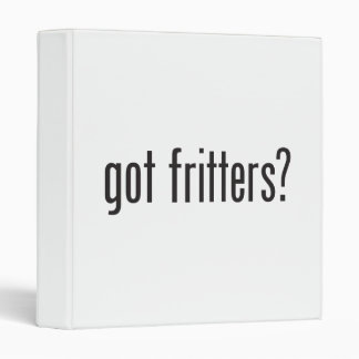 got fritters 3 ring binder