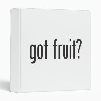 got fruit 3 ring binders