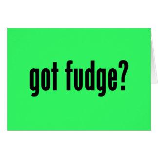 got fudge? card