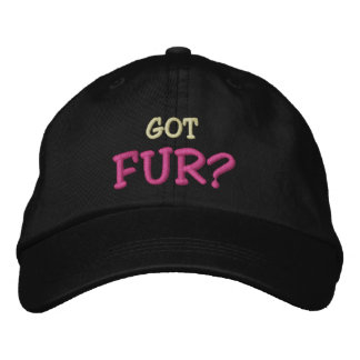 Got FUR? Embroidered Hat
