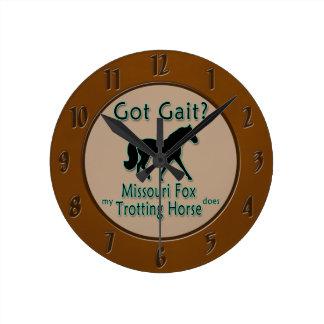 Got Gait? My Missouri Fox Trotting Horse Does Round Clock