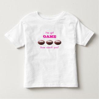 Got Game Girls Football T-Shirt