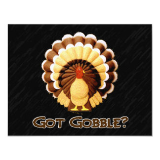 Got Gobble? Invitation