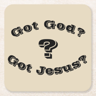 Got God? Got Jesus? Coasters