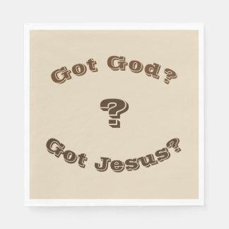 Got God? Got Jesus? Napkins Paper Napkins