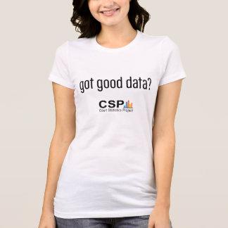 Got Good Data?  CSP Women's Tee