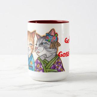 Got Gossip? Two-Tone Coffee Mug