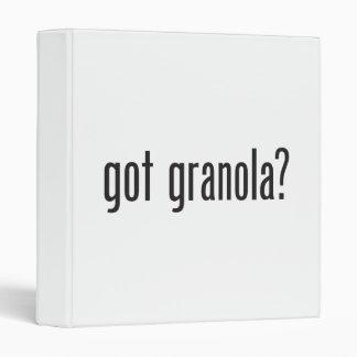 got granola vinyl binders