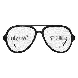 got granola aviator sunglasses