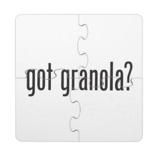 got granola puzzle coaster
