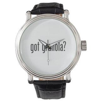 got granola wrist watches