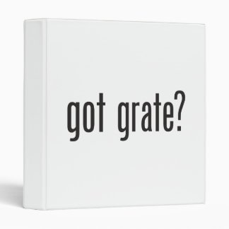 got grate 3 ring binder