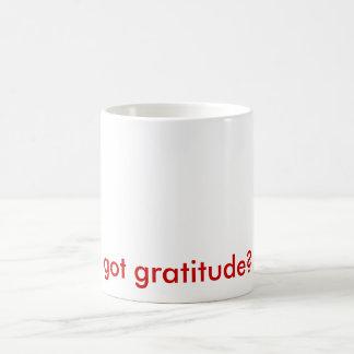 got gratitude? mug
