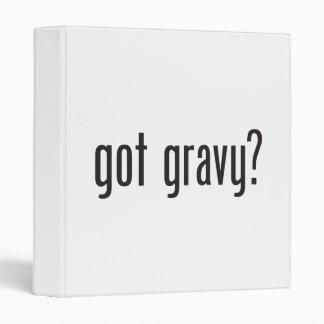 got gravy 3 ring binder